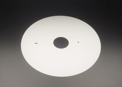 Machined Fused Quartz Discs